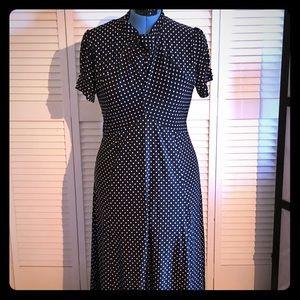 Lindy Bop Polka Dot Tea Dress